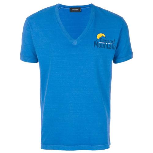 Dsquared2 Camiseta 'Dsquared2 Mountain' - Azul