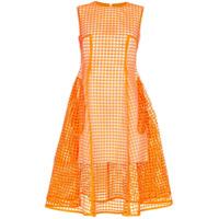 Paskal Vestido Midi - Orange