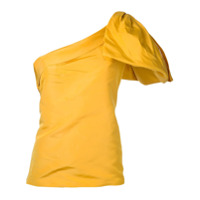 Bambah Blusa De Seda - Amarelo E Laranja