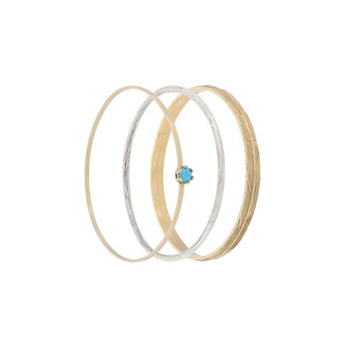 Imagem de Iosselliani Conjunto 3 braceletes 'Puro' - Grey
