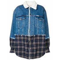 Forte Dei Marmi Couture Jaqueta Jeans 'trinity' - Azul