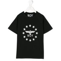 Boy London Kids Camiseta 'globe Star' - Preto