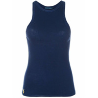 Ralph Lauren Blusa Com Decote Nadador - Azul