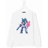 Frankie Morello Kids Camiseta 'maya' - Branco