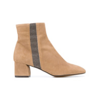 Castañer Ankle Boot De Camurça - Brown