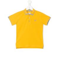 Armani Junior Camisa Polo - Amarelo E Laranja