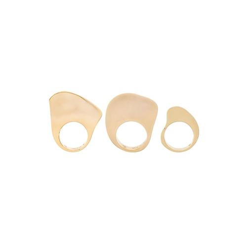 Imagem de Charlotte Chesnais Kit 3 anéis 'Arp' - Metallic