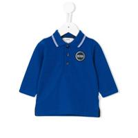 Boss Kids Camisa Polo Mangas Longas - Azul