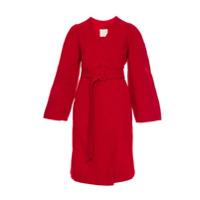 Framed Trench Coat Clássico - Vermelho