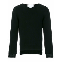 Comme Des Garçons Shirt Suéter Assimétrico - Preto