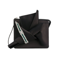Dolce & Gabbana Bolsa Tote De Couro Modelo 'sicily' - Grey