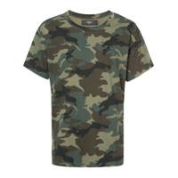 Amiri Camiseta Camuflada - Green