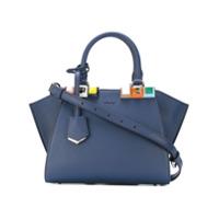 Fendi Bolsa Tote Pequena '3Jours' - Azul