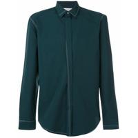 Maison Margiela Camisa Com Detalhe De Costura - Green