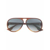 Dior Eyewear Óculos De Sol 'lia' - Brown