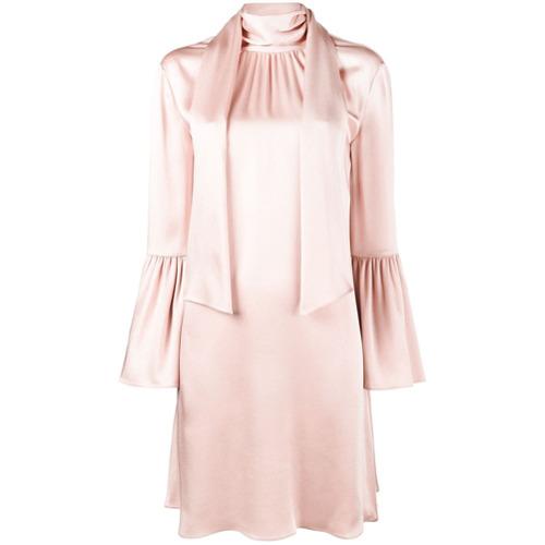 fendi-vestido-com-echarpe-pink-purple