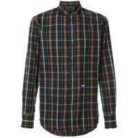 Dsquared2 Camisa Xadrez - Green