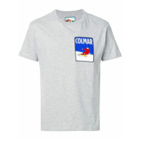 Au Jour Le Jour For Colmar Camiseta Com Patch De Logo - Grey