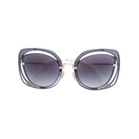 Miu Miu Eyewear Óculos De Sol Quadrado - Preto
