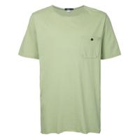 Bassike Camiseta Com Bolso - Green