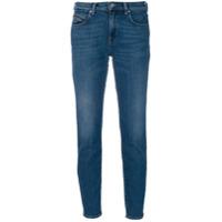 Diesel Black Gold Calça Jeans Cropped 'type' - Azul