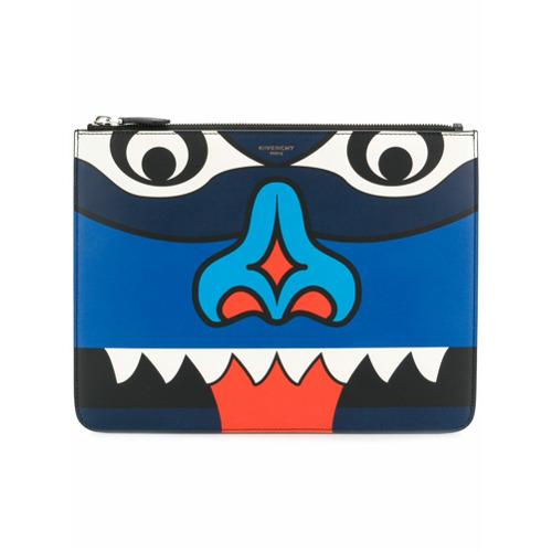 Imagem de Givenchy Clutch estampada de couro - Estampado