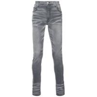 Amiri Calça Jeans Slim - Cinza