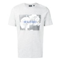 Diesel Camiseta Com Estampa - Grey