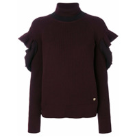 Versace Suéter Gola Rulê - Pink & Purple
