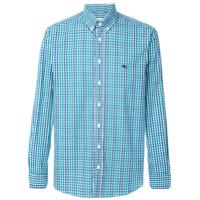 Etro Camisa Xadrez - Green