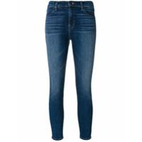 J Brand Calça Jeans Cropped 'alana' - Azul