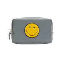 Anya Hindmarch Necessaire 'smiley' - Grey