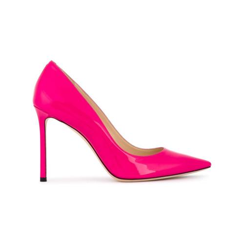 Imagem de Jimmy Choo Scarpin 'Shocking Pink Romy 100' - Rosa