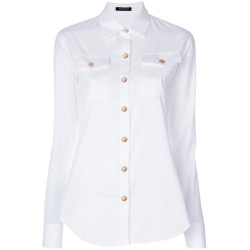 Imagem de Balmain Camisa slim - Branco
