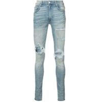 Amiri Calça Jeans Skinny - Azul