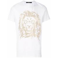 Billionaire Camiseta Com Estampa De Leão - Branco