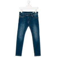 Diesel Kids Calça Jeans Reta - Azul