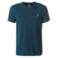 Polo Ralph Lauren Camiseta Com Logo Bordado - Azul