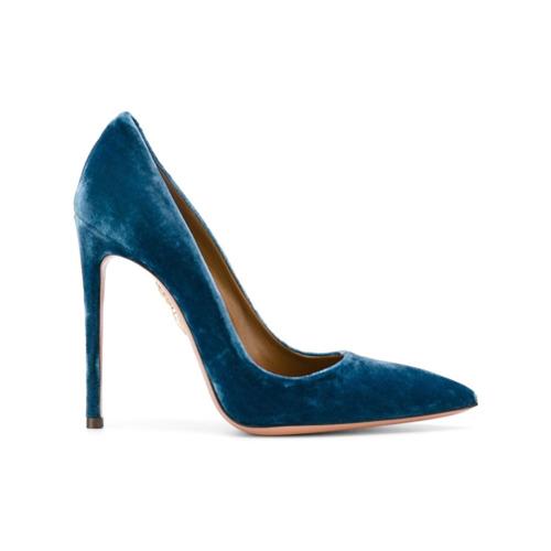 Imagem de Aquazzura Scarpin 'Simply Irresistible' - Azul