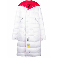 R13 Reversible Padded Coat - Branco