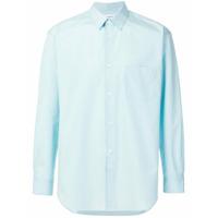 Comme Des Garçons Shirt Camisa Mangas Longas - Azul