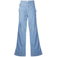 Chloé Calça Jeans Flare Cintura Alta - Azul