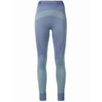 Adidas By Stella Mccartney Calça Legging Color Block - Pink & Purple