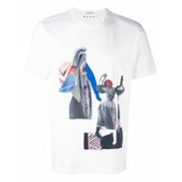Marni Camiseta Com Estampa Abstrata - Branco