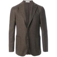 Boglioli Blazer De Tweed Com Botões - Brown