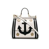 Dolce & Gabbana Bolsa Com Recortes - Branco