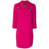 Boutique Moschino Vestido Liso Com Mangas 3/4 - Pink & Purple