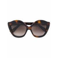 Gucci Eyewear Óculos de sol gatinho - Brown