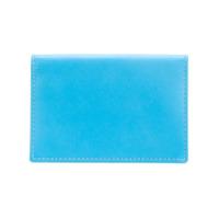 Comme Des Garçons Wallet Porta-Cartões De Couro - Azul