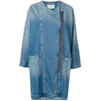 Current/elliott Jaqueta Jeans Midi - Azul